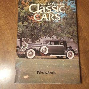 CRESCENT COLOR GUIDE TO CLASSIC CARS PETER ROBERTS